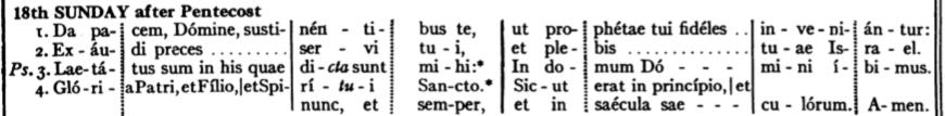 Pent18-R-Introit