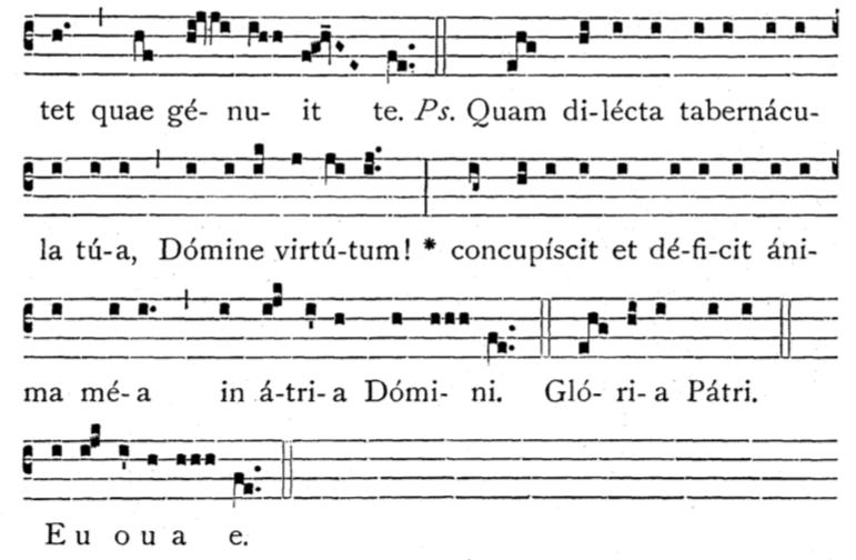 HF Introit verse 1-12-20 psalm tone VII